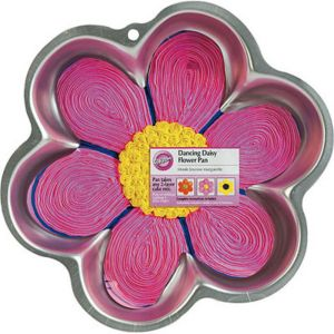Dancing Daisy Cake Pan 12in