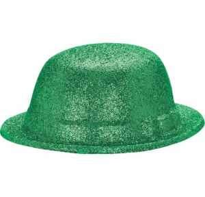 Glitter St. Patrick's Day Derby Hat