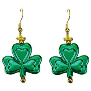Dangling Shamrock Earrings