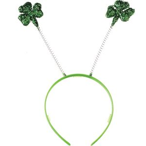 Glitter Shamrock Head Bopper