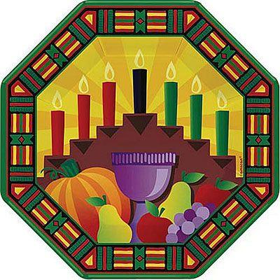 Kwanzaa Dinner Plates 8ct