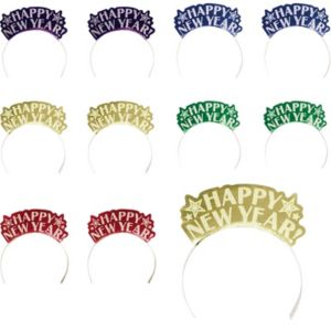 Colorful New Year's Tiaras 12ct
