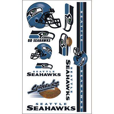 Seattle Seahawks Tattoos 10ct