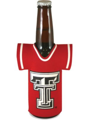 Texas Tech Red Raiders Jersey Bottle Coozie