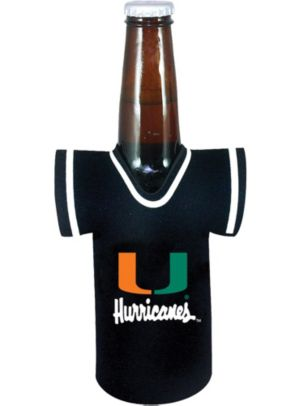 Miami Hurricanes Jersey Bottle Coozie
