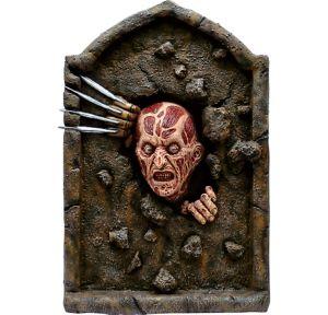 Creepy Freddy Krueger Tombstone