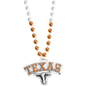 Texas Longhorns Pendant Bead Necklace
