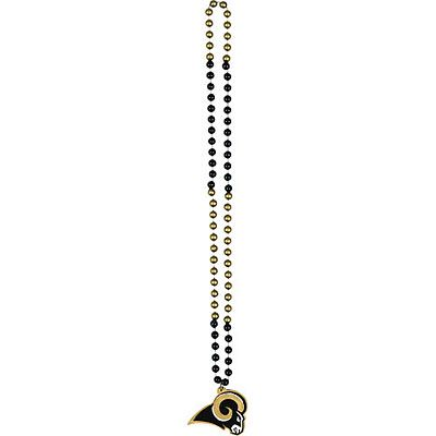 St. Louis Rams 36in Bead Necklace