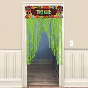 Totally Tiki Fringe Doorway Curtain