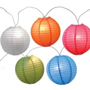 Large Round Lantern Lights