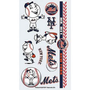 New York Mets Tattoos 10ct