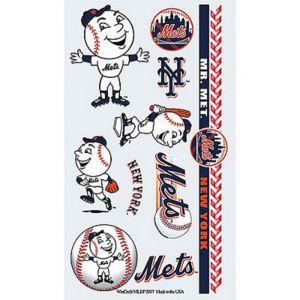 New York Mets Tattoos 10ct