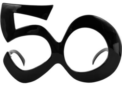 Happy Birthday 50 Glasses
