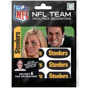 Pittsburgh Steelers Eye Black Stickers 6ct