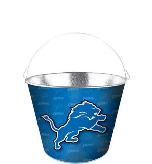 Detroit Lions Galvanized Bucket