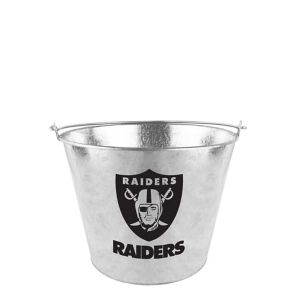 Oakland Raiders Galvanized Bucket
