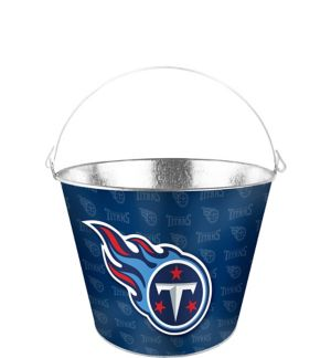 Tennessee Titans Galvanized Bucket