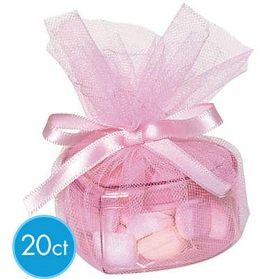Heart Plastic Favor Kit 20ct
