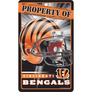 Property of Cincinnati Bengals Sign