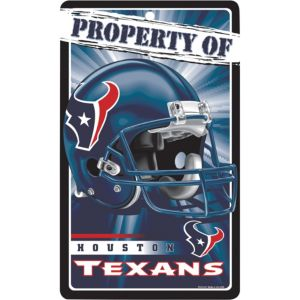Property of Houston Texans Sign