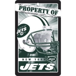 Property of New York Jets Sign