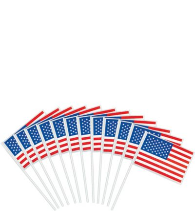 American Flags 12ct