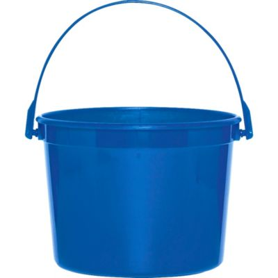 Royal Blue Plastic Bucket