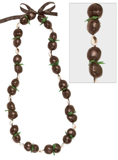 Tropical Kukui Nut Lei