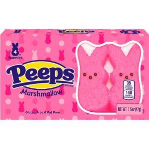 Pink Bunny Peeps 4pc