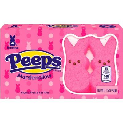 Pink Bunny Peeps 4ct