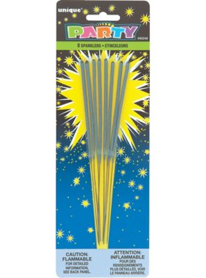 Sparklers 8ct Party City