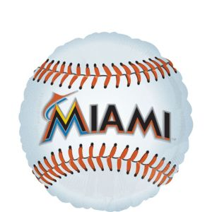Florida Marlins Balloon - Baseball