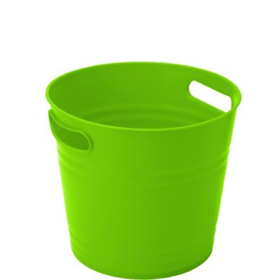 Kiwi Green Plastic Ice Bucket
