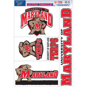 Maryland Terrapins Decals 5ct