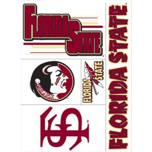 Florida State Seminoles Decals 5ct
