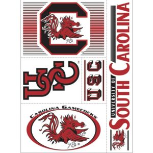 South Carolina Gamecocks Decals 5ct