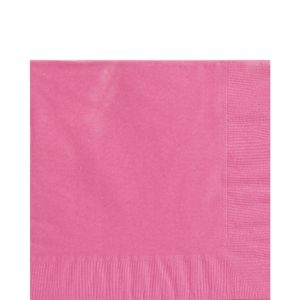 Bright Pink Lunch Napkins 125ct