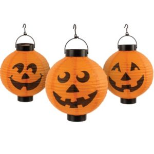 Pumpkin Lantern String Lights 3ct