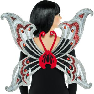 Jeweled Organza Butterfly Wings