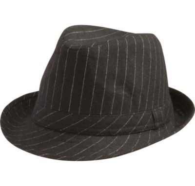 c2263f4ad0 Pinstripe Fedora Hat 9in x 5 1 2in