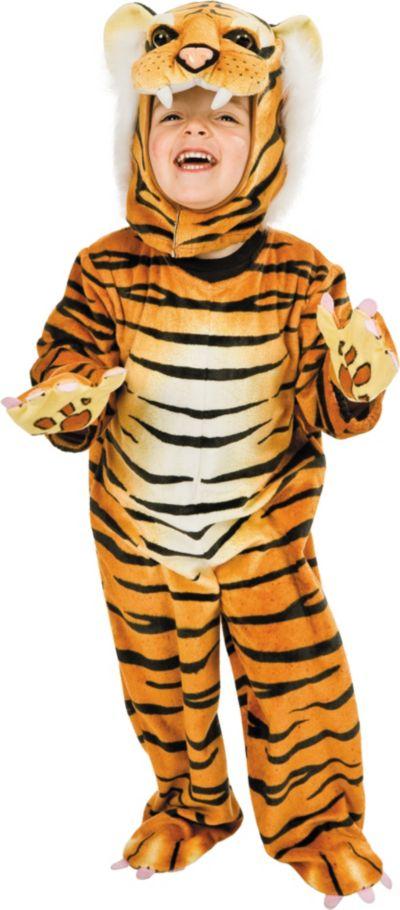 Toddler Boys Tiger Costume