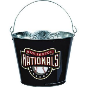 Washington Nationals Galvanized Bucket