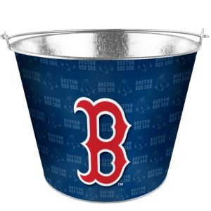 Boston Red Sox Galvanized Bucket