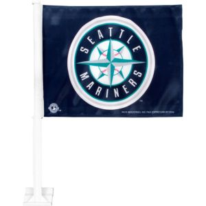 Seattle Mariners Car Flag