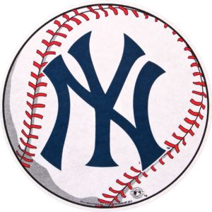 New York Yankees Pennant Baseball 14in