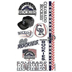 Colorado Rockies Tattoos 10ct