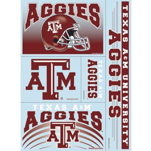 Texas A&M Aggies Decals 5ct