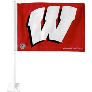 Wisconsin Badgers Aggies Car Flag