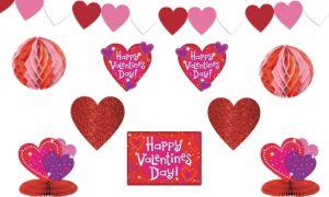 Love Crazy Valentine's Day Decorating Kit 10pc