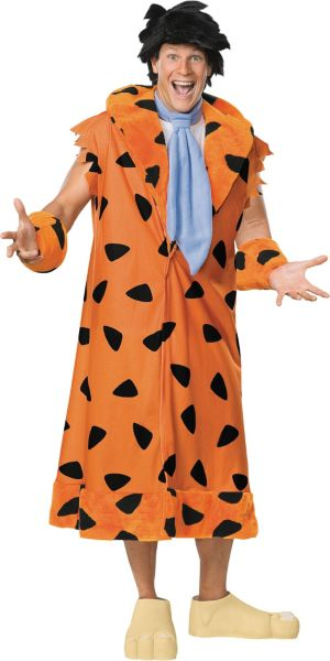 Adult Fred Flintstone Costume Plus Size